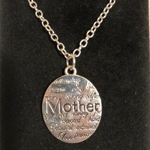 Jewelry - Mother Descriptive Letter Engraved Necklace